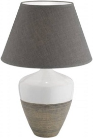 Fischer & Honsel Derby 56179 Table Lamp 40W E27 White/Brown