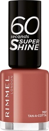 Rimmel London 60 Seconds Super Shine 8ml Nail Polish 707