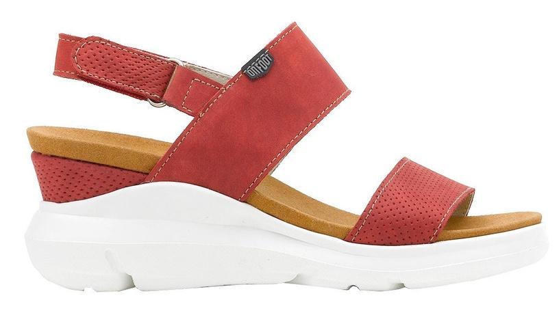 Basutės On Foot Dos Tiras Sandals 80100 Red 37