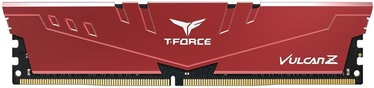Team Group T-Force Vulcan Z Red 16GB 3600MHz CL18 DDR4 TLZRD416G3600HC18J01 (bojāts iepakojums)