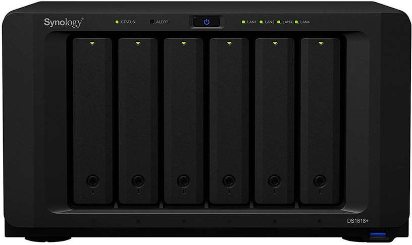 Synology DiskStation DS1618+ 36TB Seagate Exos