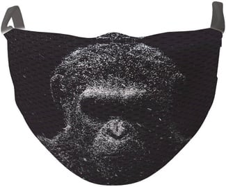 TakeMe Antibacterial 2-Layer Washable Slim Fit Face Mask Gorilla