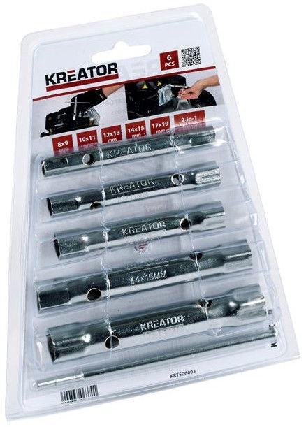 Kreator Tubular Wrenches Set 6pcs