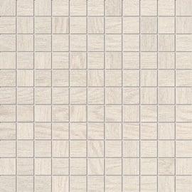 Tubadzin Inverno Ceramic Decorated Wall Mosaics White 300x300mm