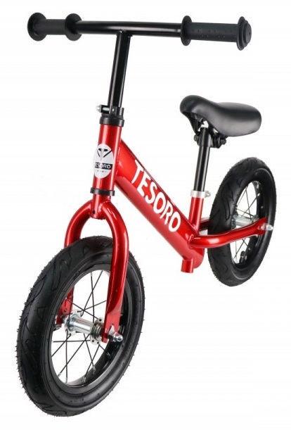 Tesoro PL-12 Balance Bike Red Mettalic