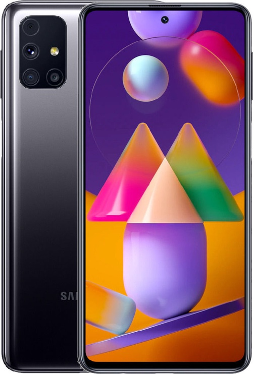 Mobilusis telefonas Samsung Galaxy M31s Mirage Black, 128 GB