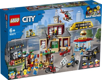 Constructor LEGO City Main Square 60271