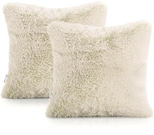AmeliaHome Lovika Pillowcase 45x45 Beige 2pcs