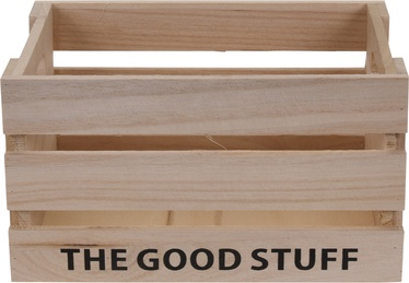 Dėžė medinė good stuff 36x26x18 didelė