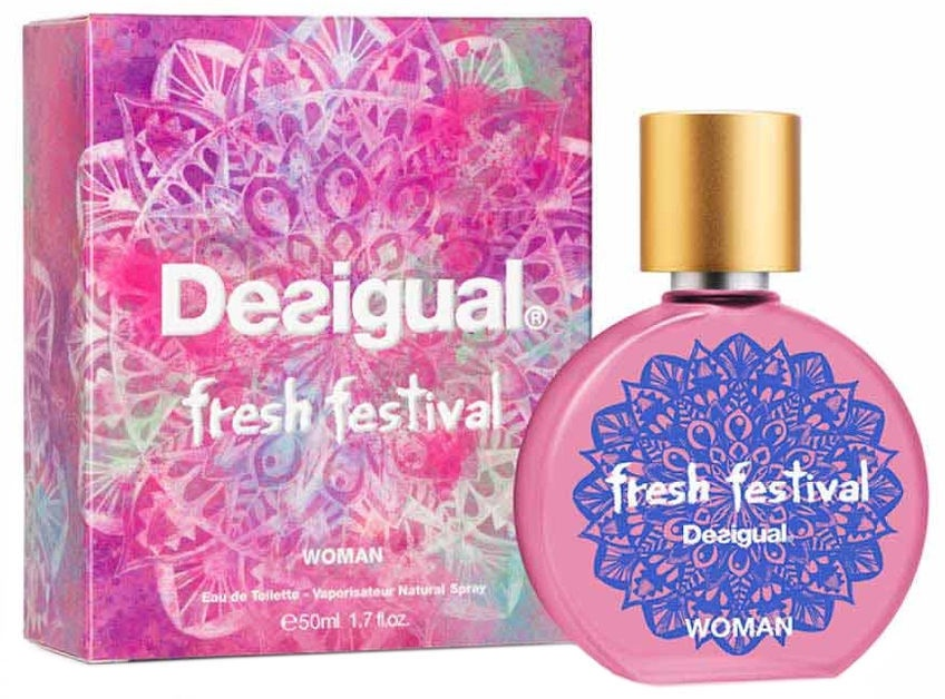 a341c0fb884 Desigual Fresh Festival 50ml EDT
