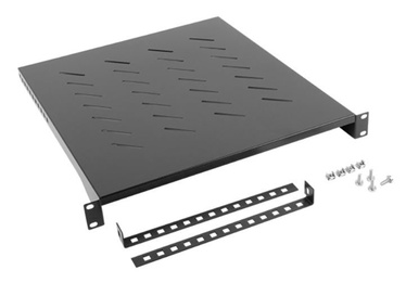 Riiul Lanberg Fixed Shelf 19'' 483 x 500mm Black