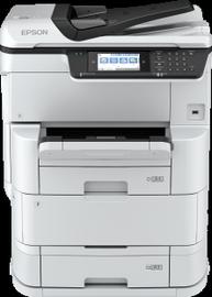 Многофункциональный принтер Epson WF-C878RDTWF, струйный, цветной
