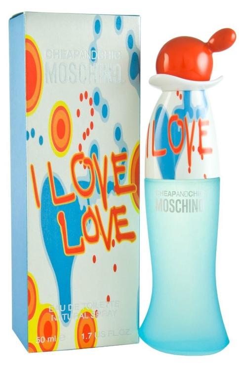 Tualettvesi Moschino I Love Love 50ml EDT