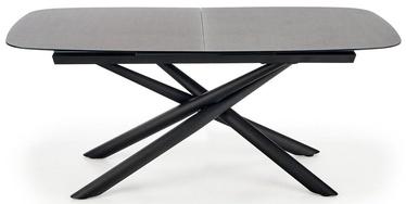 Обеденный стол Halmar Capello, черный/серый, 1800x950x770мм