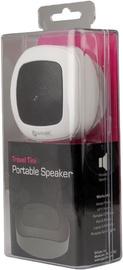 Belaidė kolonėlė G-Cube Travel Tini Portable Speaker, balta