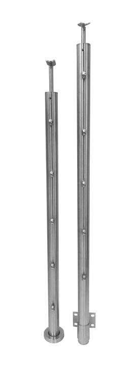 Trepikäsipuu post, 44,5 x 1,2 x 950 mm