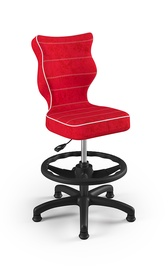 Детский стул Entelo Petit Black HC+F VS09, красный, 350 мм x 950 мм