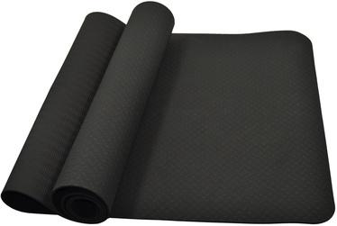 Phoenix Yoga Mat Black 183x61x0.4cm