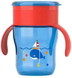 Philips Avent Drinking Cup 360 260ml Blue Red SCF 782/15