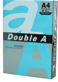Double A Colour Paper A4 500 Sheets Deep Blue