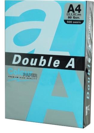 Бумага Double A Colour Paper A4 500 Sheets Deep Blue