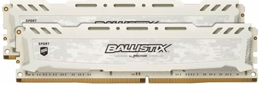 Crucial Ballistix Sport LT White 32GB 3000MHz CL15 DDR4 KIT OF 2 BLS2K16G4D30AESC