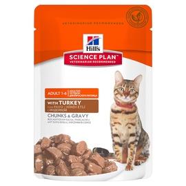 Hill's Science Plan Adult Cat Feline w/ Turkey 85g
