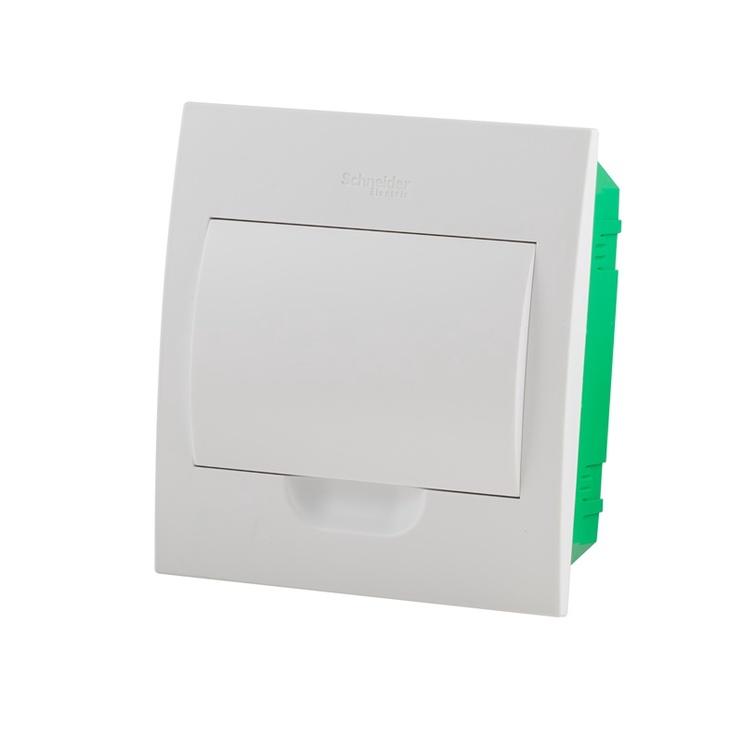 Potinkinė automatinių jungiklių dėžutė Schneider, 8 modulių
