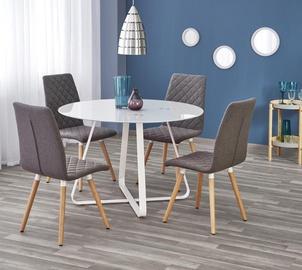 Pusdienu galds Halmar Looper White, 1150x1150x760 mm