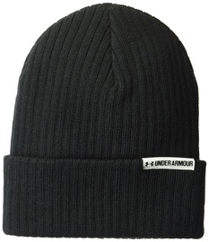 Under Armour Beanie Boyfriend Cuff 1299904-001 Unisex Black