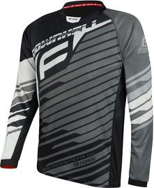 Force Downhill Jersey Black/White/Grey L