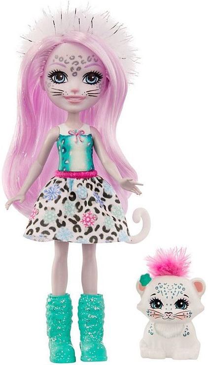 Кукла Mattel Enchantimals Sybill Snow Leopard & Flake GJX42