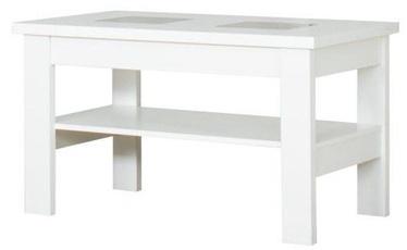 Kafijas galdiņš Bodzio S28, balta, 1000x600x590 mm