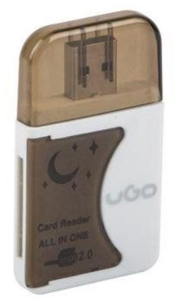 Natec UGO Card Reader Black