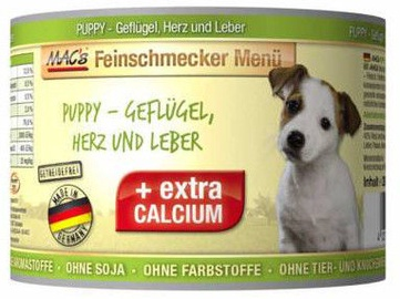 Mac's Puppy Poultry Heart & Liver 400g