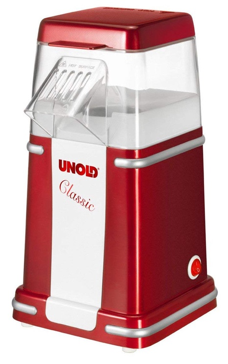 Unold Popcorn Maker Clasic 48525 Red
