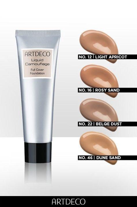 Artdeco Liquid Camouflage Full Cover Foundation 25ml 60