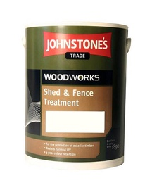 Impregnantas Johnstone's Shed and Fence Treatment, juodmedžio spalvos, 5 l