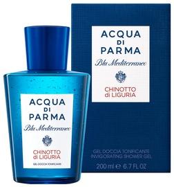 Dušas želeja Acqua Di Parma Blu Mediterraneo Chinotto Di Liguria Unisex, 200 ml
