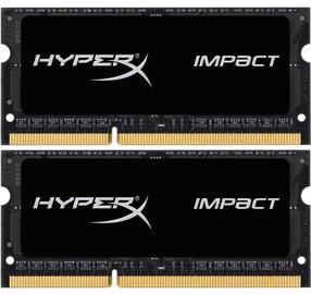 Operatīvā atmiņa (RAM) Kingston HyperX Impact HX318LS11IBK2/16 DDR3 (SO-DIMM) 16 GB