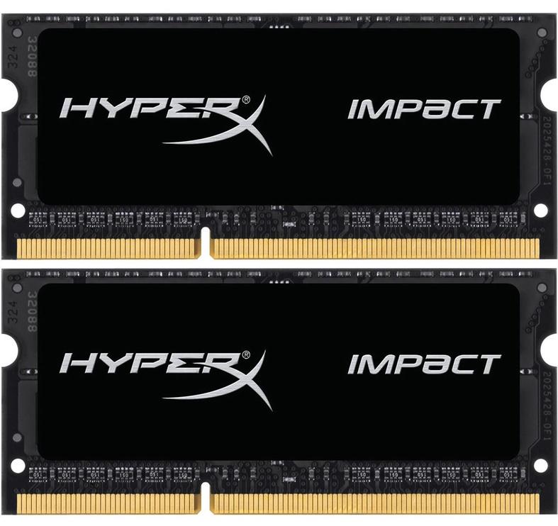 Kingston 16GB 1866MHz DDR3 CL11 HyperX Impact SODIMM KIT OF 2 HX318LS11IBK2/16