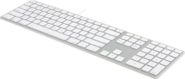 Matias Aluminum RGB Keyboard for Mac UK Silver