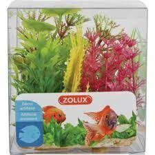 Dekoratsioon Zolux Boit Mix X6 Nr4 Plantkit Decor