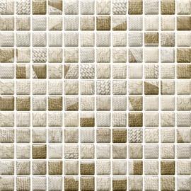 Paradyz Ceramika Attiya Mosaic Tiles 29.8x29.8cm Beige