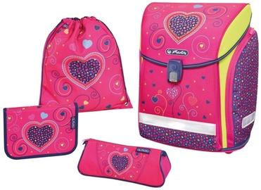 Herlitz Midi Plus Pink Hearts