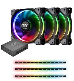 Thermaltake Riing Plus 12 RGB Radiator Fan Lumi + TT Premium Edition Combo Kit