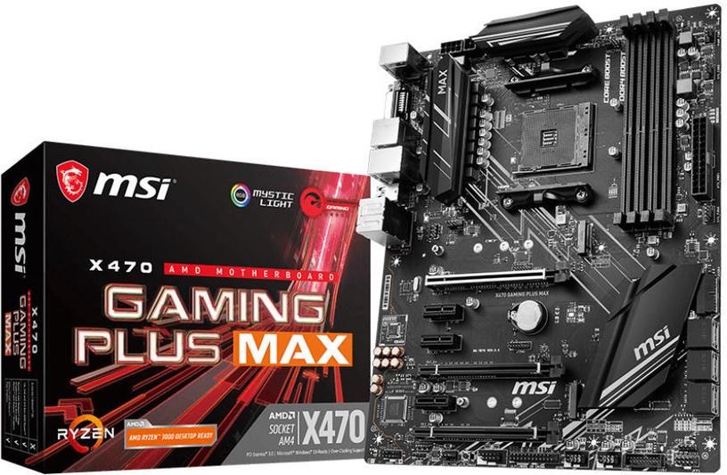 Mātesplate MSI X470 GAMING PLUS MAX