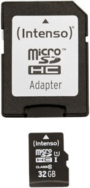Intenso Premium 32GB microSDHC UHS-I Class 10 + SD Adapter 3423480