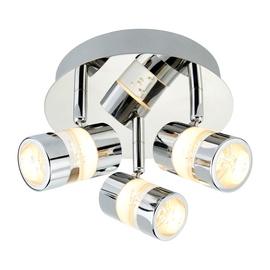 Kryptinis šviestuvas Searchlight Bubbles 4413CC, 3x4.5W Integruota LED