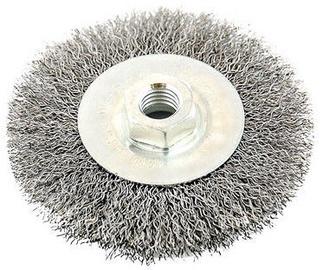 Ega Steel Wire Wheel Brush 100mm